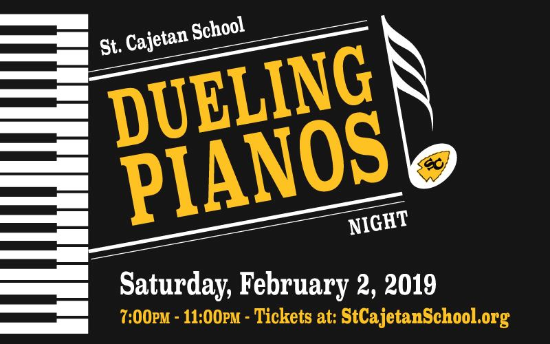 JOIN US FOR DUELING PIANOS!