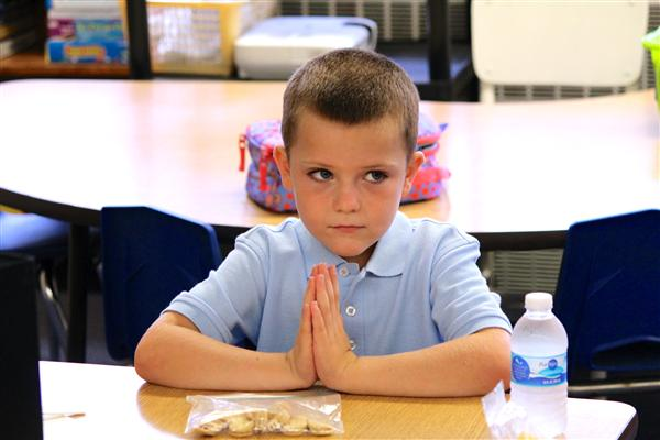Prayer at Snacktime